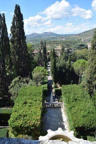 Trädgårdsarkitektens tankar, den inspirerande Villa d'Este