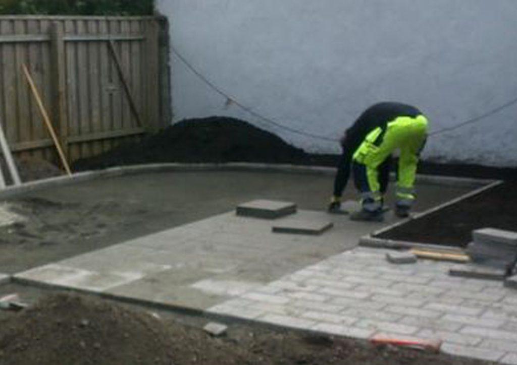 Tjänster: anläggningsarbetare