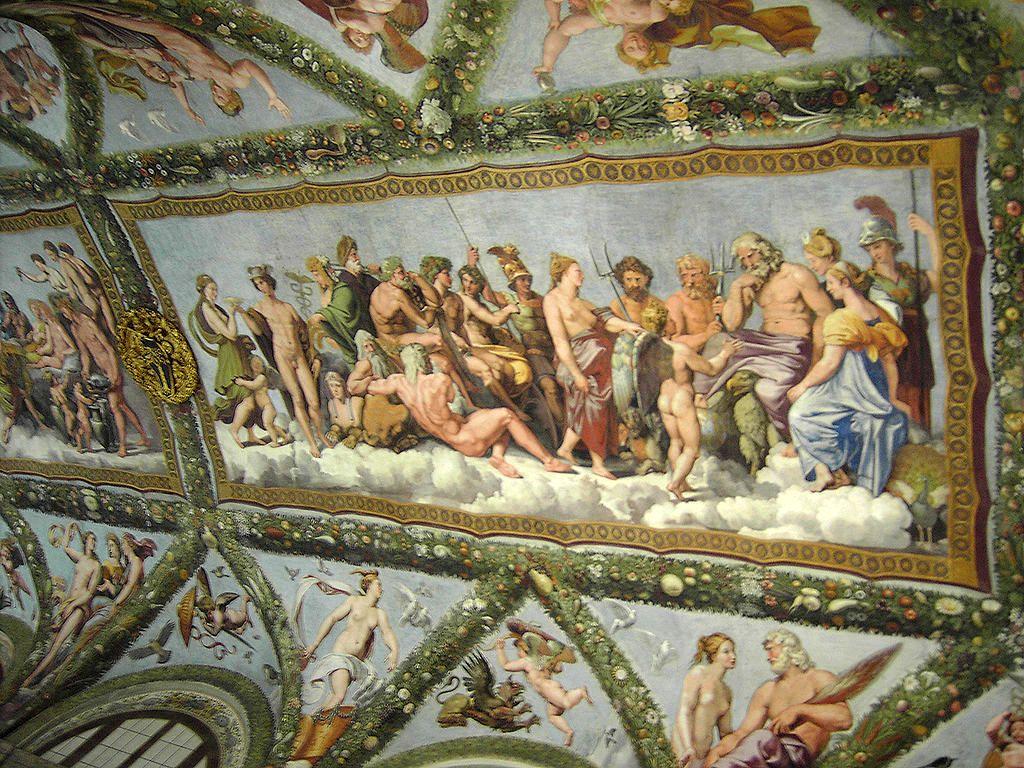 Villa Farnesina, fresker