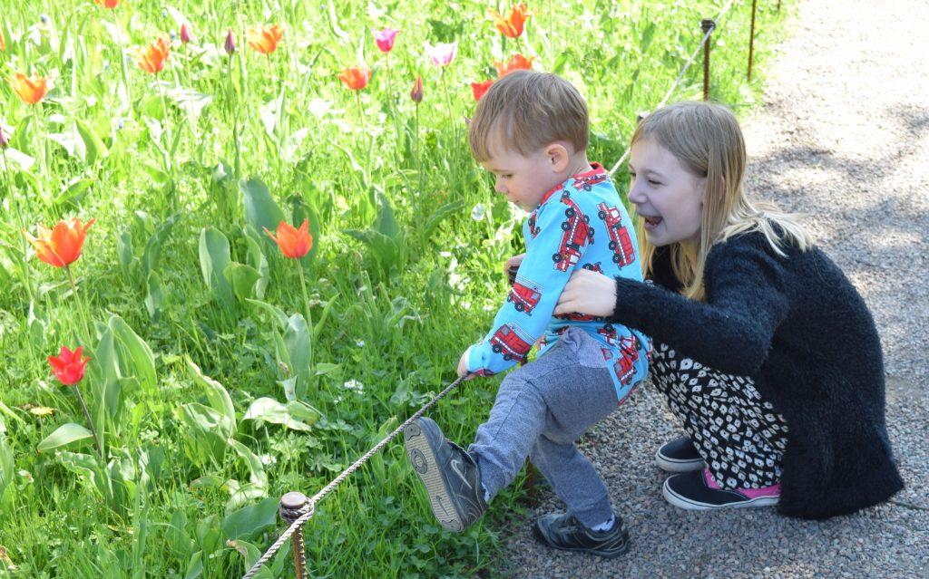 trädgårdsarkitekt, Utemiljön och barn