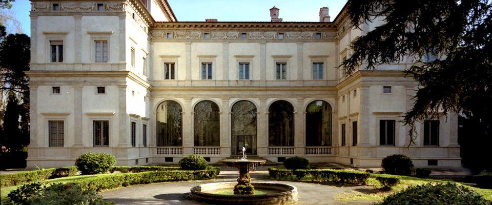 Villa Farnesina, exteriör