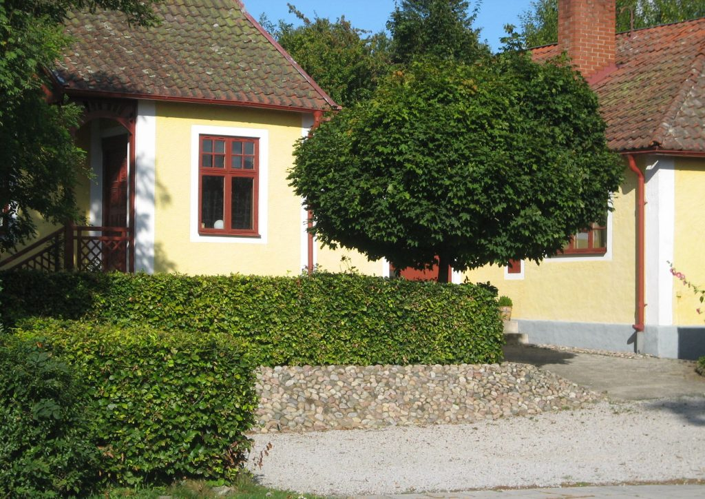 Villaträdgård i Veberöd