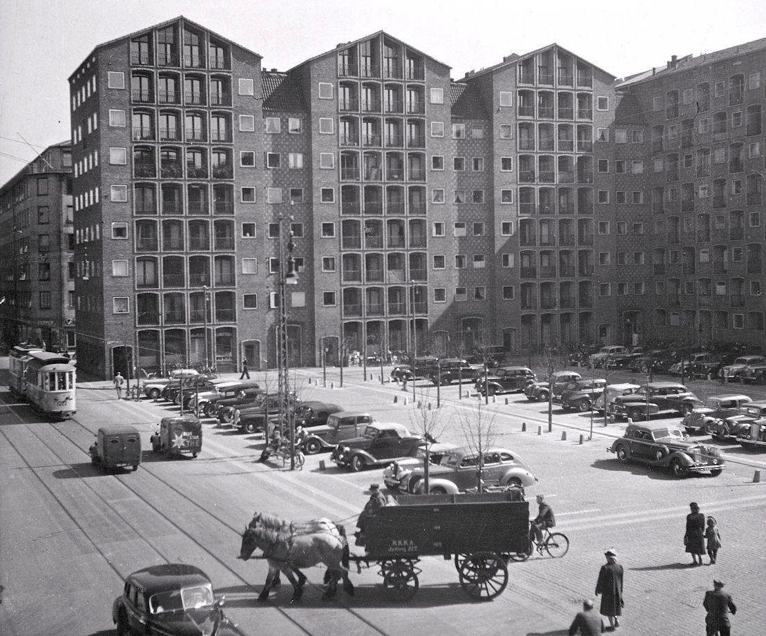 Dronningegården i Köpenhamn, ca 1950