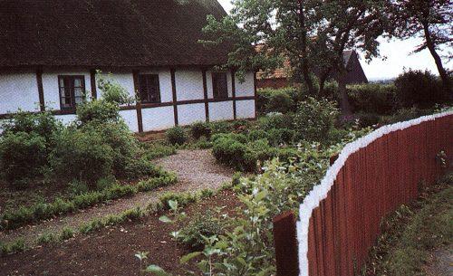 allmogeträdgården, staket