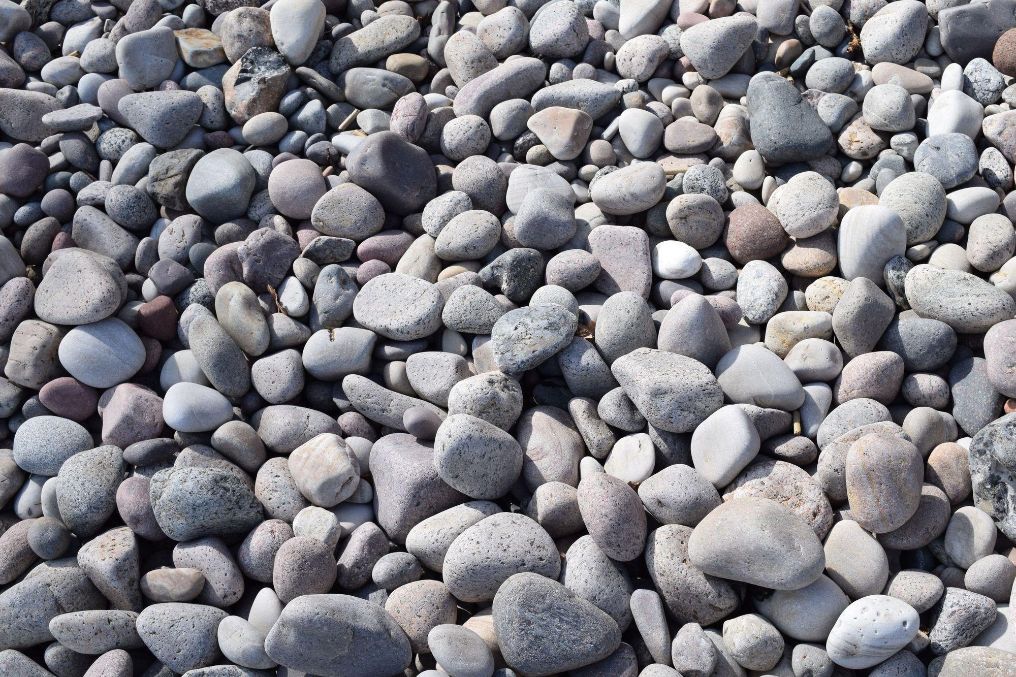 Vattenslipade stenar