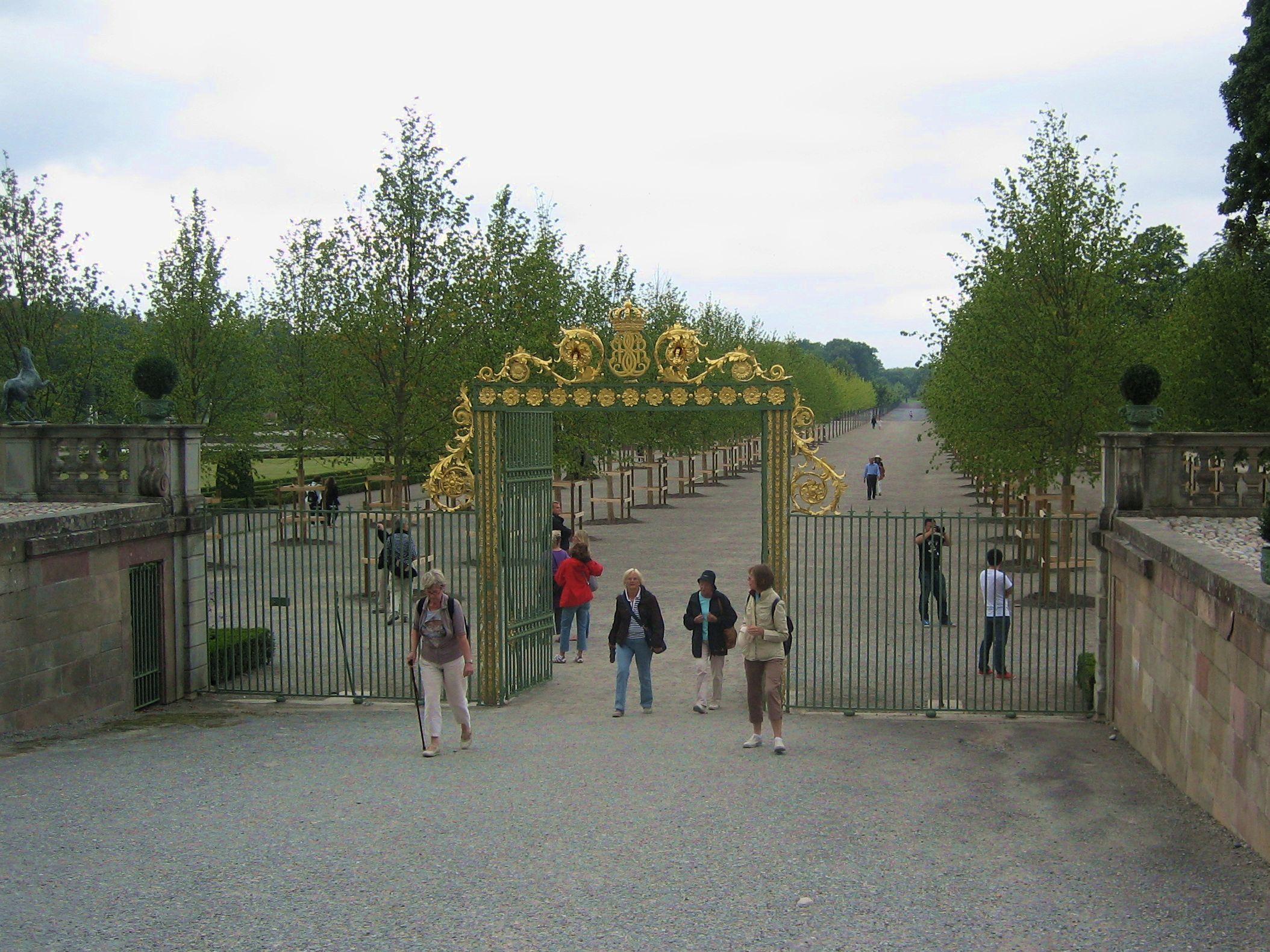 Drottningholm, alléerna