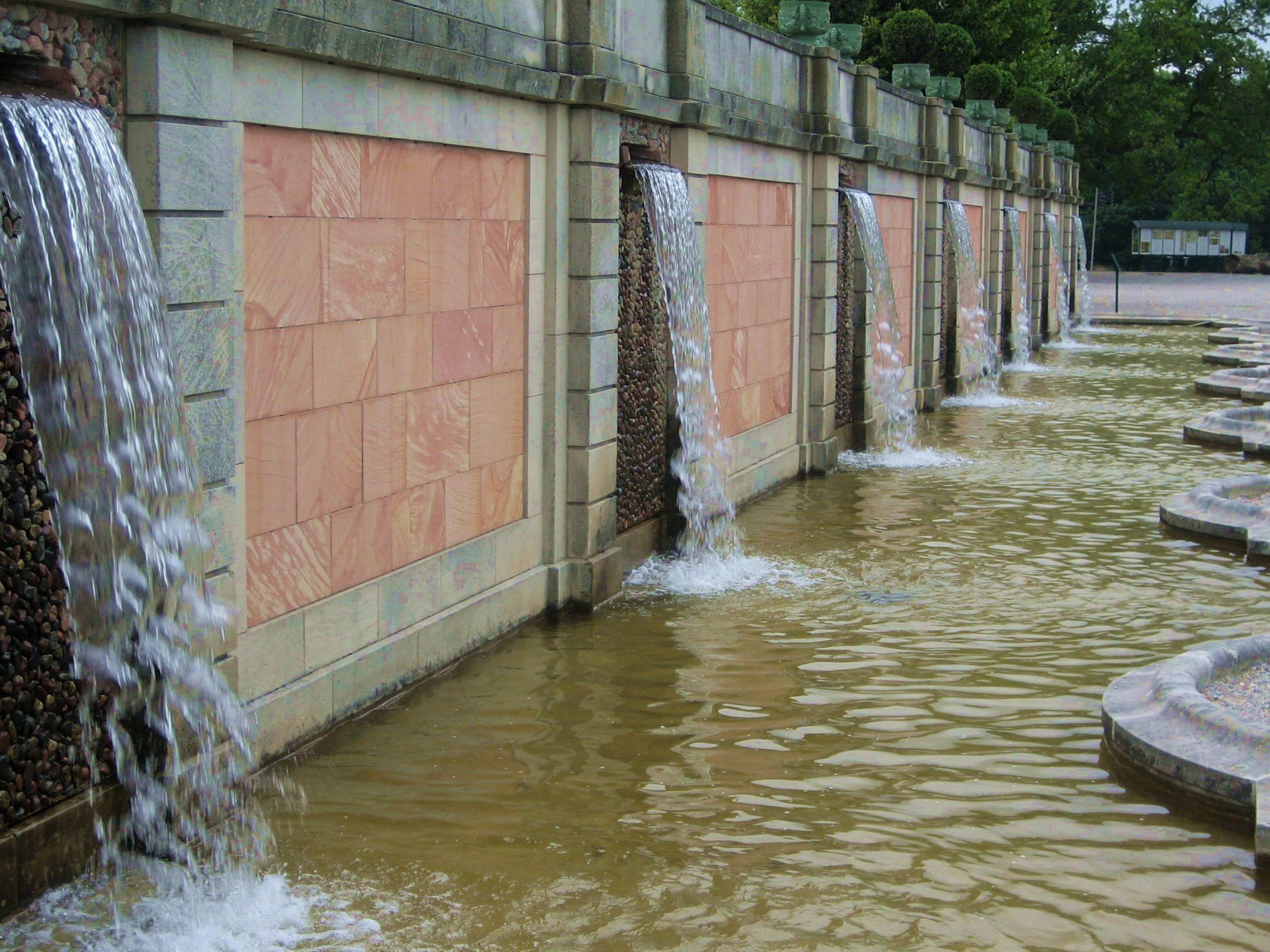Drottningholm, vattenkaskaden