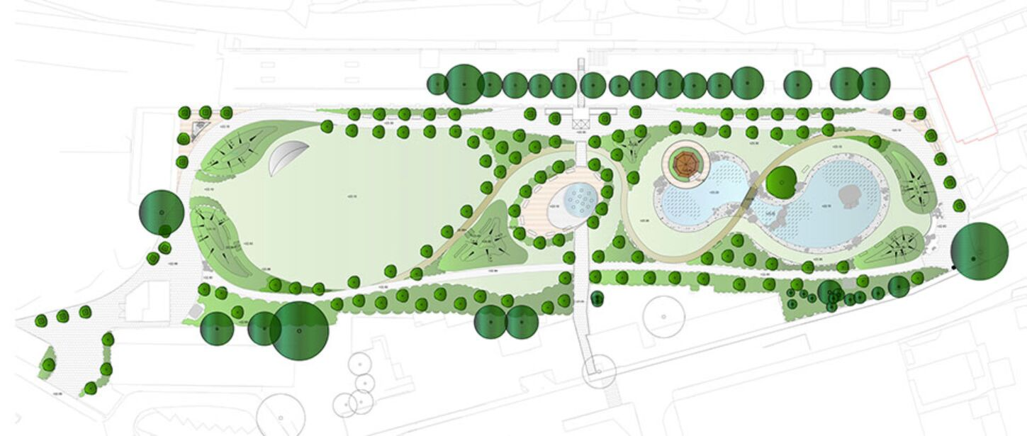 Plan Commonwealth Park i Gibraltar