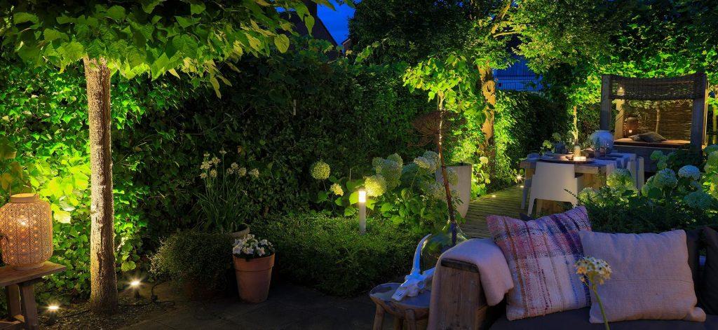 Utebelysning i din trädgård